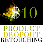 Dropout Background - Product Retouching