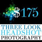 Three Look Headshot Session