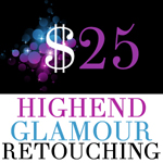 High-End Glamour Retouching